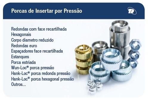 PORCAS INSERTAR PRESSÃO
